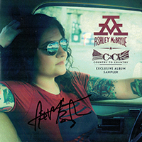 Signed Albums Ashley Mc Bryde - Exclusive signed EP from C2C